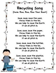 Teach students Earth friendly concepts through catchy poems and songs. Here's a compilation of poems and songs from North Carolina's Region A Par...: