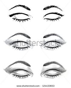 stock-vector-pencil-drawing-closed-eyes-and-auto-traced-realistic-sketch-124433653.jpg (382×470)