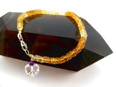 Citrin Armband von Elstar-Design auf DaWanda.com