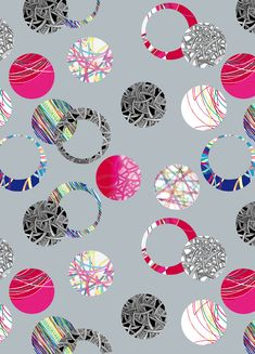 """Project """"Metaphysics"""" on Behance Textile Prints, Textile Design, Floral Prints, Pattern Design, Print Design, Floral Design, Damask Wall Stencils, Gray Wallpaper, Thing 1"""