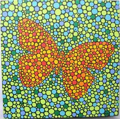 Art 'Butterfly Too' - by PJ Gorman from Dots Meditations
