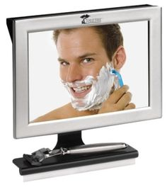 $29.95(CLICK IMAGE TWICE FOR UPDATED PRICING AND INFO)  Fogless Shower Mirror with Squeegee by ToiletTree Products. Guaranteed Not to Fog, Designed Not to Fall. - See More  Valentines Gift for Men at http://www.zbuys.com/level.php?node=6089=valentines-gift-ideas-for-men