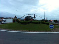 Rond point helicoptere a Montauban (82) (merci Frédérick)
