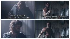 The Musketeers - 2x05 - The Return, Would you two kindly stop being so damn adorable?!