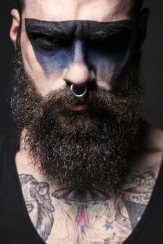 #makeup #beard #tattoo #piercing