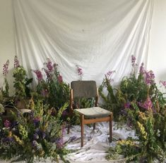 This background set up is to die for! Simple white blanket sheet always does the job and for props you can probably find at a dollar store and create this dreamy setup.