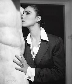 """I knew that Monica Bellucci is beautiful, but I still wasn't prepared to what awaited me. Monica Bellucci is not just beautiful. She is a dazzling beauty. Her beauty is not of those classical angelic."
