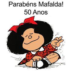Loco Mundo: Parabéns Mafalda - 50 anos!