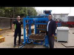 Qt4 25 Maquina Para Hacer Block Bloques De Cemento Concreto Automaticas Precios En Venta Dominica Youtube Bloques De Cemento Cemento Concreto