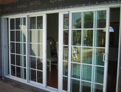 1000 images about windows for sunroom on pinterest for Sliding doors that look like french doors