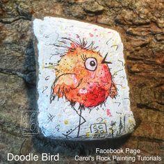 Watercolor Canvas, Happy Paintings, Kindness Rocks, You Rock, Stone Art, Scribble, Rock Painting, Rock Art, Painted Rocks