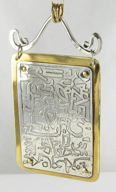 ESPRIT MYSTIQUE : DIY Acid Etching on Metal for Jewelry Making - Part IV: Etching on Silver Using Ferric Nitrate
