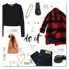 """""""Do it!"""" by tuilindo ❤ liked on Polyvore featuring Hilfiger, IaM by Ileana Makri, Rebecca Taylor, Opening Ceremony, Diesel and Lee Renee"""