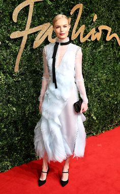 Kate Bosworth from 2015 British Fashion Awards Red Carpet Arrivals | E! Online