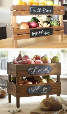 Storing fresh produce correctly and safely is also a great way to save your money and food. Tomatoes, potatoes, garlic, onions and other non-refrigerated foods if stored properly can last many days. There are a lot of creative and useful DIY produce storage ideas that you can do yourself on a budget. A little creativity [...]