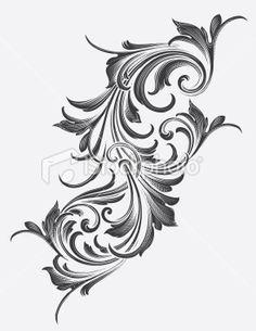 victorian scrollwork tattoos - Google Search