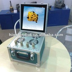 China portable hydraulic piston pump tester made in China - China portable pump tester, Highland
