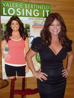 Valerie Bertinelli looks fabulous, my incentive to join Jenny Craig!!!
