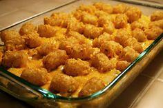 A Lazy Girl's Guide to Living Gluten Free: Gluten Free Cowboy Casserole