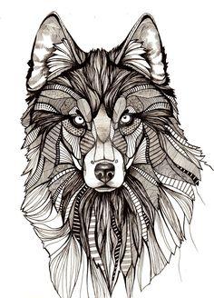 Wolf by aofie-fionn
