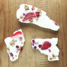 Yogurt bark This+lovely+recipe+is+perfect+for+teething!
