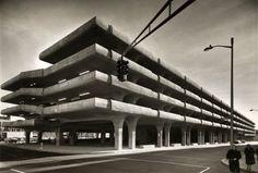Brutalist Garage: 1963   Shorpy   #1 Old Photos