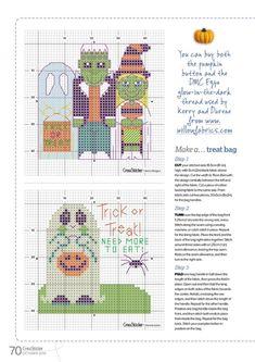 Embroidery Patterns, Cross Stitch Patterns, Halloween Cross Stitches, Halloween Quotes, Treat Bags, Blackwork, Pixel Art, Fabric Design, Cards