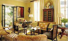 Gold Living Room