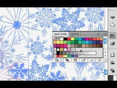Create a Seamless Repeating Vector Pattern Using Adobe Illustrator {video tutorial by SewHeidi}