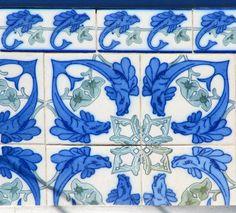 Azulejos antigos no Rio de Janeiro: Saúde XIIIb - rua do Jogo da Bola