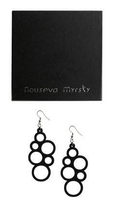 Black Packaging, Packaging Design, Jewelry Branding, Timeless Design, Drop Earrings, Shop, Silver, Drop Earring, Design Packaging
