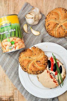 Pastă picantă de fasole albă | Bucate Aromate Pasta, Camembert Cheese, Vegan, Food, Essen, Meals, Vegans, Yemek, Eten
