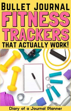 Getting fit has never been easier than with this genius bullet journal fitness tracker! #fitness #workout #healthyliving #bulletjournaltrackers #bujo Bullet Journal Exercise Tracker, Bullet Journal Health, Self Care Bullet Journal, Bullet Journal For Beginners, Bullet Journal Mood, Bullet Journal Aesthetic, Bullet Journal Layout, Bullet Journal Inspiration, Fitness Tracker