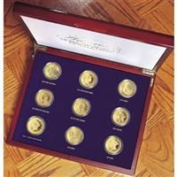 American Coin Treasures® Tribute to America's Most Beautiful Gold Coins 9 - Pc. Proof Collection