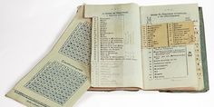 German codebook, captured by the English