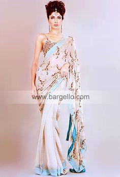 De'la Bou Sari Top: Diamond pink charmeuse silk top having amazin