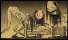 John Kenn - Illustration - Monster - 2015
