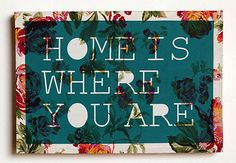 5. Home is Where You Are Art - 8 Best House-Warming Gifts ... | All Women Stalk