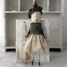 Miss Tweedy Doll  OAK £39.00