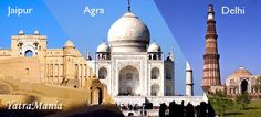 Golden Triangle Tour: The Golden Triangle tour is the name of because of the triangular shape made by the locations of Delhi, Agra and Jaipur on a map. The trips generally start in Delhi moving south to the point of Taj Mahal timing at Agra, then west, to the desert landscapes of Rajasthan. The Golden Triangle Tour India is now a good traveled route providing a good range of the country's different landscapes.