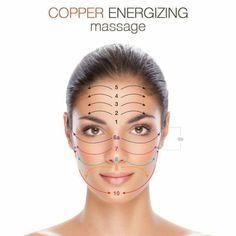 Copper massage facial techniques