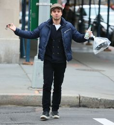 "Being all, ""WTF?!"" while he's grabbing lunch. 