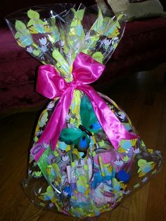Easter basket for my godson 3 my homemade craftsgifts easter basket negle Gallery