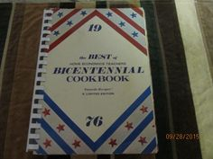 Vintage 1976 Best of Home Economics Teachers Bicentennial Cookbook Cook Book by EvenTheKitchenSinkOH on Etsy