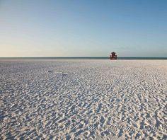 world's strangest beaches: Siesta, Florida