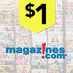 Magazines.com | $1 Sale & Up to $10 Off