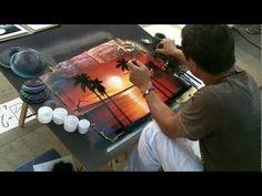 Amazing Spray Paint Art   -  Damir : un artiste qui peint à la bombe - YouTube