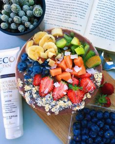 alysaslifestyle:  acaaaaai bowl whilst catching some rays on...
