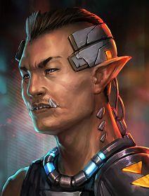 Cyberpunk Character, Cyberpunk Art, Fantasy Rpg, Dark Fantasy Art, Character Portraits, Character Art, Shadowrun Game, D20 Modern, Star Wars