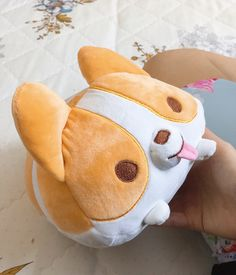 """839 Me gusta, 7 comentarios - Chibi Bunny (@chibi.bunny) en Instagram: """"I must share this super cute corgi plush from @thousandskies ☺️It is super fluffy, soft, great…"""""""